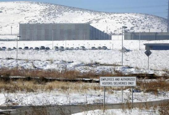 A National Security Agency (NSA) data gathering facility is seen in Bluffdale, about 25 miles (40 km) south of Salt Lake City, Utah, December 16, 2013. The U.S. government's collection of massive amounts of data about telephone calls, a program revealed in June after leaks by former National Security Agency contractor Edward Snowden, is likely unlawful, a judge ruled on Monday. Jim Urquhart/REUTERS (UNITED STATES - Tags: POLITICS)